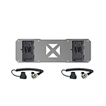Shape 2 x V-Mount Plates  and  D-Tap Cables for Atomos Sumo