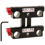 Shape Double Sliding Rod Block for 15mm Rods