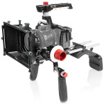 Shape Cage Kit w/ Matte Box, Shoulder Mount  and  Follow Focus for BMPCC 6K  and  4K