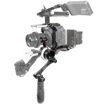 Shape Canon C500 Mark II Baseplate with Handle, Cage and Follow Focus Pro