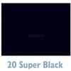 Savage 107ft x 50yds Widetone Seamless Background Paper  - #20 Super Black