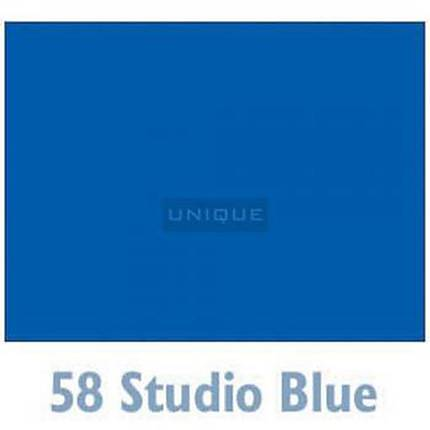 Savage Widetone Seamless Background Paper - 107in.x50yds. - #58 Studio Blue