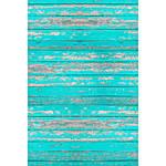 Savage 4x5 Distressed Teal Wood Floor Drop