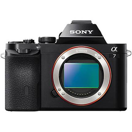 Sony Alpha a7 24.3MP Full Frame Mirrorless Camera (Body Only)-Black