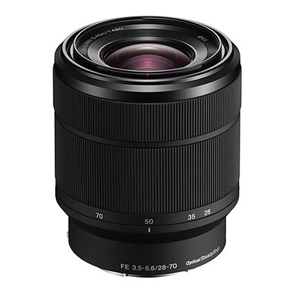Sony FE 28-70mm f/3.5-5.6 OSS Full-Frame E-Mount Zoom Lens - Black