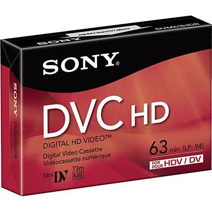 Sony DVM-63HD HDV Cassette (63 Minutes)