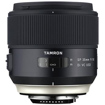 Tamron SP 35mm f/1.8 Di VC USD Lens for Nikon F Mount