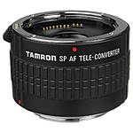 Tamron SP 2.0x Pro Teleconverter Lens for Canon AF Mount Lenses - Black
