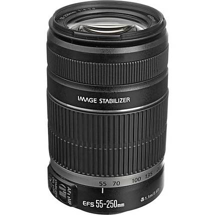 Used Canon EF-S 55-250mm f/4-5.6 IS II [L] - Ecellent