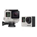 Used GoPro Hero 4 Black w/ 4 Batteries, Dual Charger - Excellent