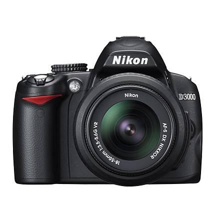Used Nikon D3000 W/ 18-55mm VR Lens - Excellent