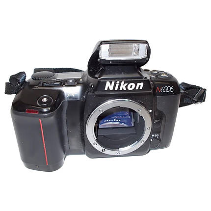 Used Nikon N6006 Film SLR with 50mm f/1.8D Lens - Excellent