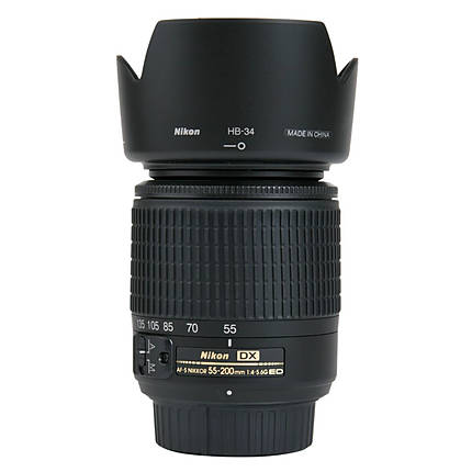 Used Nikon 55-200mm f4-5.6G ED AF-S DX [L] - Excellent