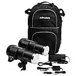 Used Profoto B1 500 AirTTL Location Kit 2 Heads,Backpack,Charger - Good
