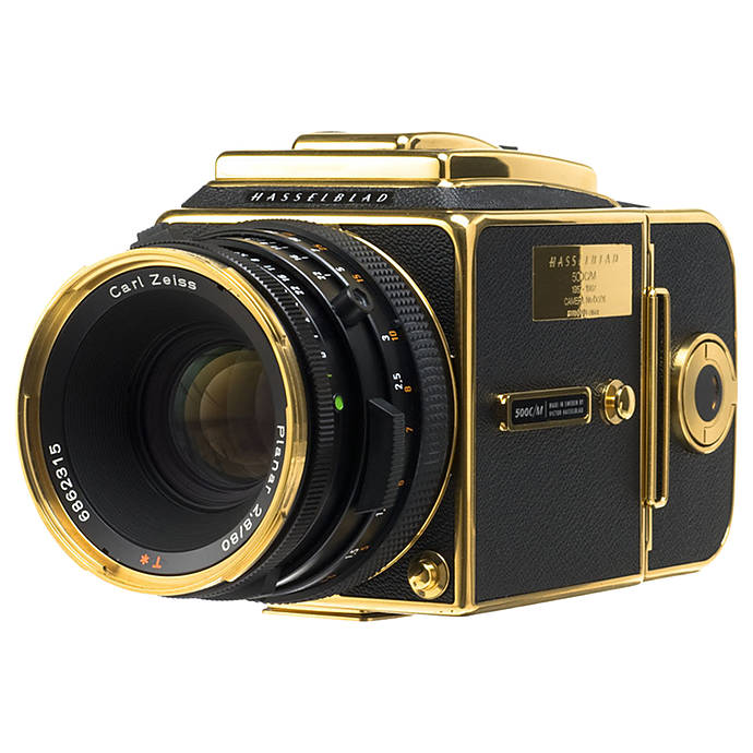 Used Hasselblad 500CM W/ 80mm 30th Anniversary Gold Edition - Good
