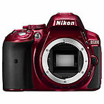 Used Nikon D5300 Body Only (Red) - Good