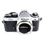 Used Nikon FE2 35mm Film SLR Body Only (Silver) - Good
