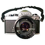 Used Nikon FE 35MM SLR Chrome W/ 50mm F/1.8 Series E [F] - Good