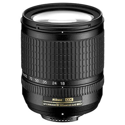 Used Nikon 18-135mm f/3.5-5.6 ED DX - Good