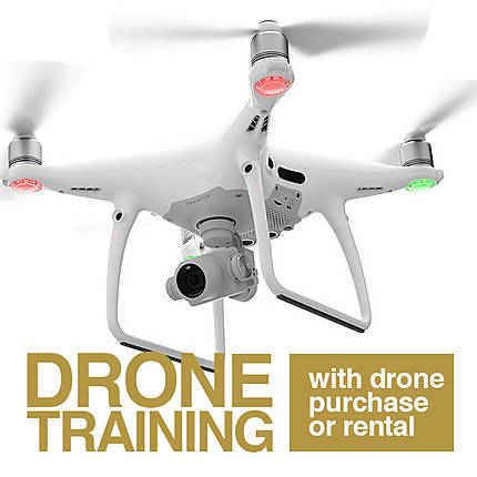 Personal One-on-One Drone Training (with Drone Purchase or Rental)