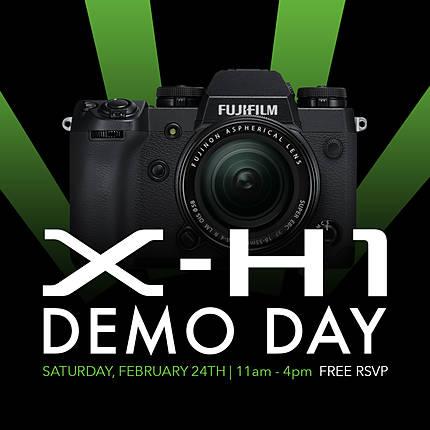 *FREE RSVP* Fujifilm X-H1 Demo Day