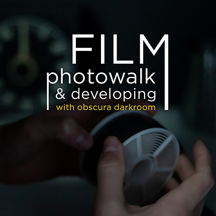 Film Photowalk and Developing with Obscura Darkroom