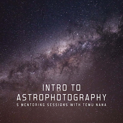 UUOnline Mentoring: Intro to Astrophotography with Temu Nana