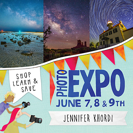 EXPO: Star Trails and Milky Way with Jennifer Khordi