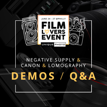 Film Lovers Event: Demos w. Negative Supply, Canon, and Lomography (Philly)