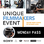 Unique Filmmakers Event: Monday Pass