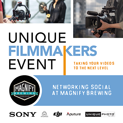 Unique Filmmakers Event Networking Social at Magnify Brewing