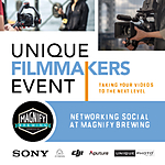 Unique Filmmakers Event Networking Social at Magnify Brewing