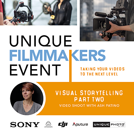 Visual Storytelling: Part Two with Ash Patino (Video Shoot)