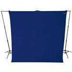 Westcott Wrinkle-Resistant Backdrop - Chroma-Key Blue 9x10ft