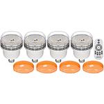 Westcott 4-Pack 45W Dimmable LED Bulb Kit