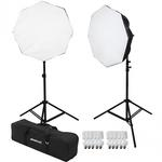 Westcott 2-Light D5 Daylight Octabox Kit with Carry Case