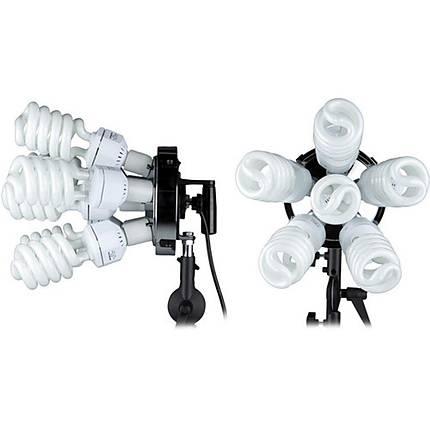 Westcott SpiderLite TD6 1200Watt ( 2 Pack) Light  Kit With Tilter Brackets
