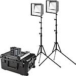 Westcott Flex Cine Bi-Color LED 2-Light Travel Kit 1x1ft