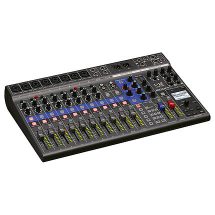 Zoom LiveTrak L-12 - 12-Channel Digital Mixer  and  Multitrack Recorder
