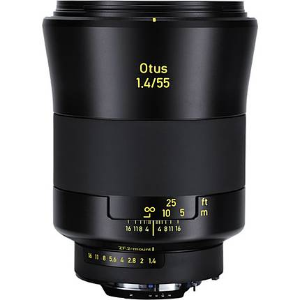 Zeiss Otus 55mm f/1.4 Super Wide Angle Lens for Nikon F Mount - Black