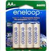 Eneloop Rechargeable Ni-MH AA 4pk Batteries (2000mAh) Sanyo/Panasonic