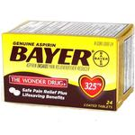 Bayer Aspirin Tablets 24ct