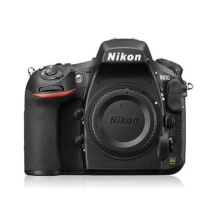 Nikon D810 36.3 MP CMOS Digital Camera Body Only - Black
