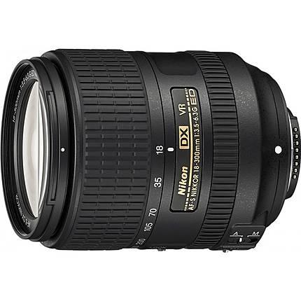 Nikon AF-S DX Nikkor 18-300mm f/3.5-6.3G ED VR Telephoto Lens - Black