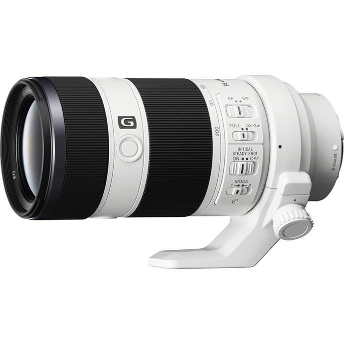 Sony FE 70-200mm f/4 G OSS Full-Frame E-Mount Zoom Lens - White ...